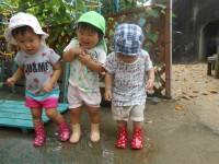 ☆水溜りで遊ぶ子たち④☆